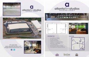 Atlanta Film Studios Flyer Design
