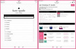 Kate Spade Mobile Design