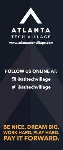 Atlanta Tech Village Banner - Atlanta Graphic Design
