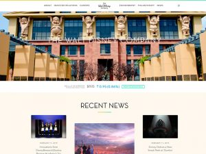Brands Using WordPress: The Walt Disney Company