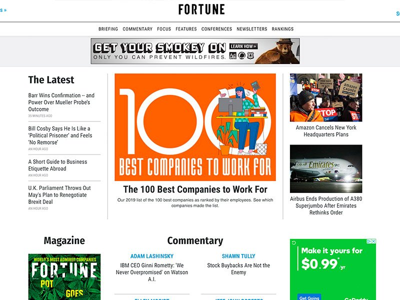 Brands That Use WordPress: Fortune