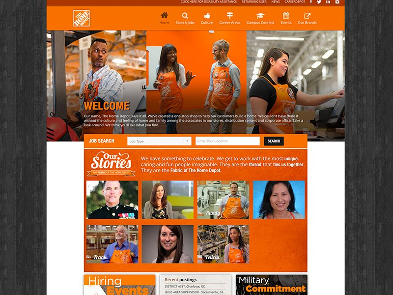 Brands That Use WordPress: Home Depot