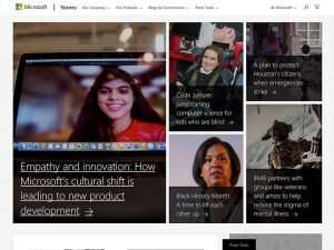 Brands Using WordPress: Microsoft