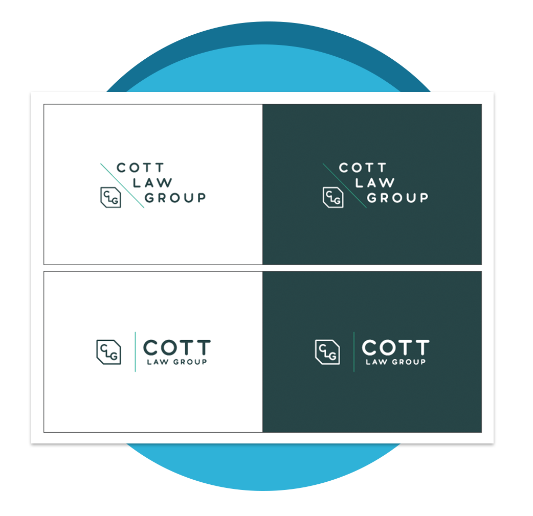 Cott Law Group - Atlanta Graphic Design