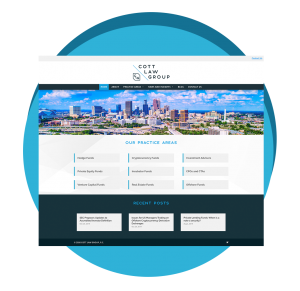 Cott Law Group - Atlanta Web Design