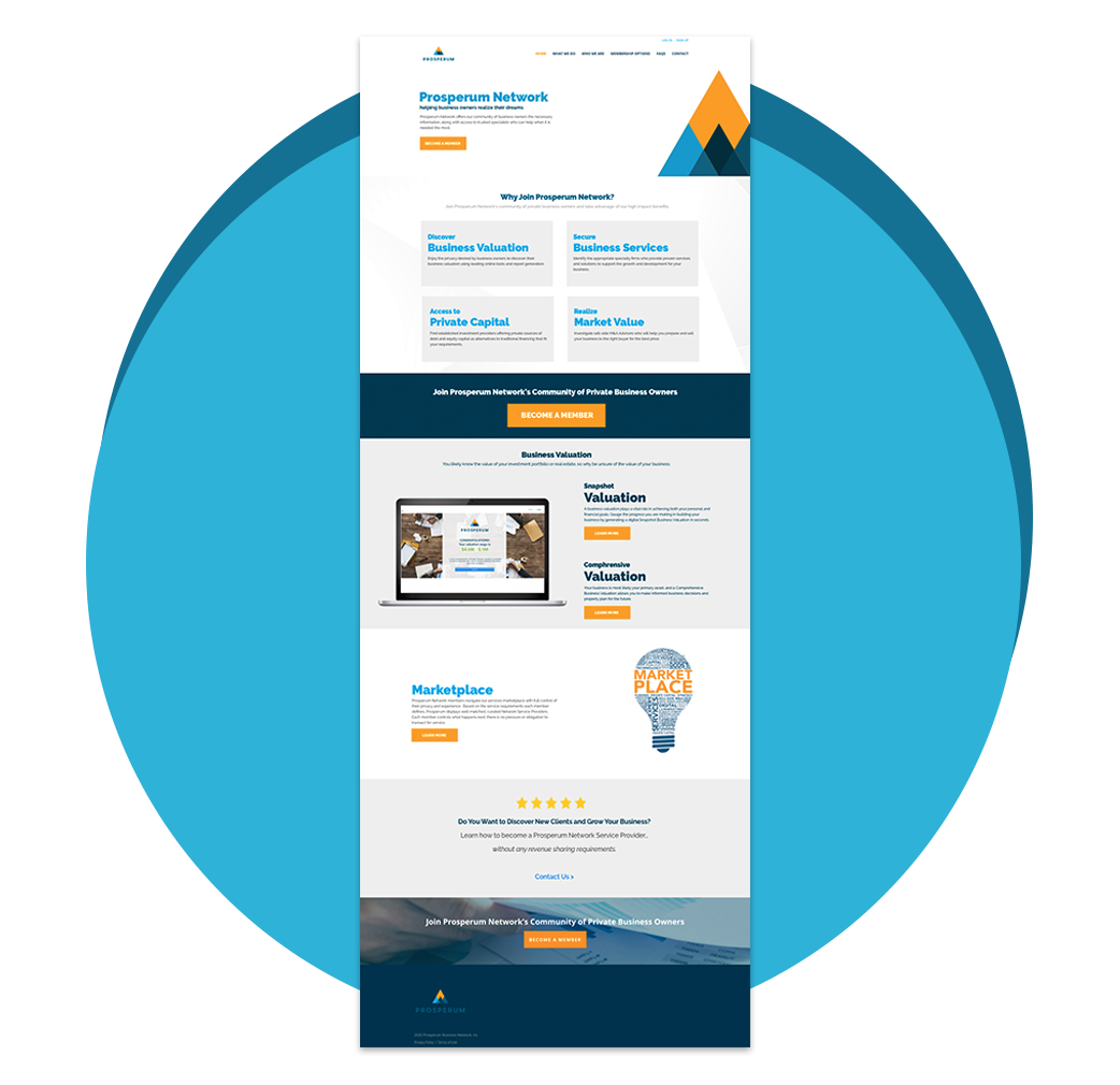 Atlanta Web Design - Prosperum