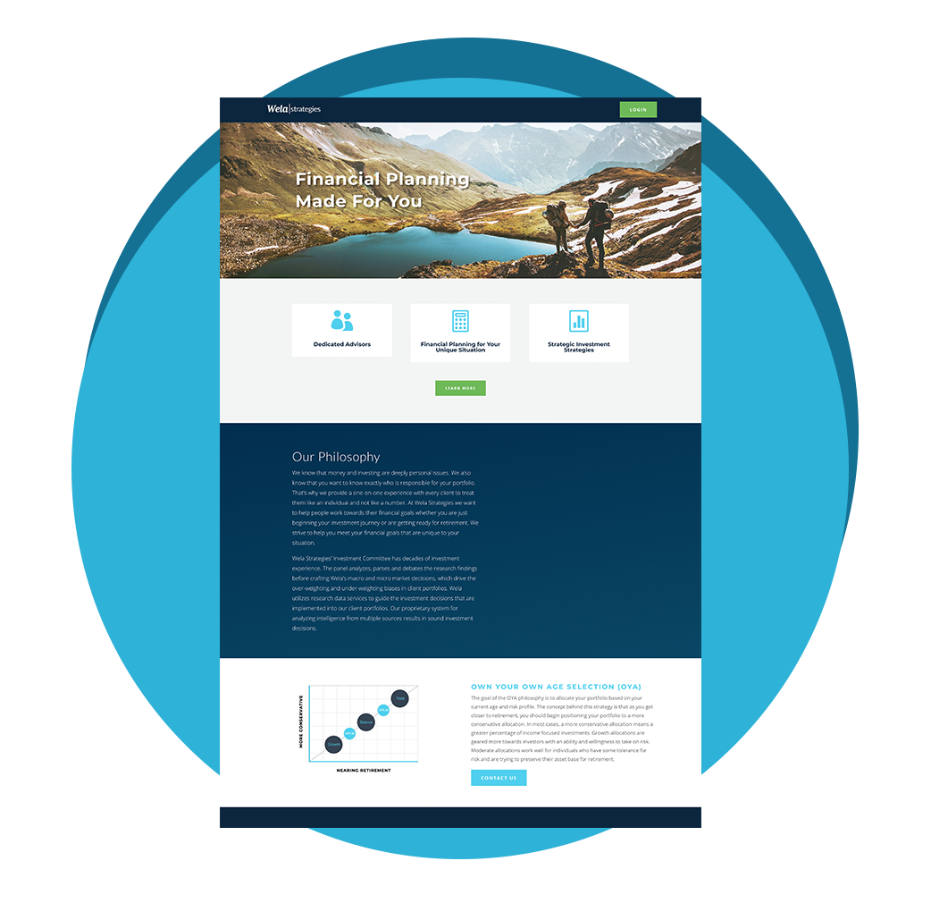 Wela Strategies - Atlanta Web Design
