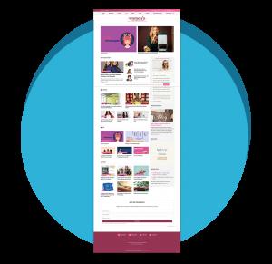 Atlanta Web Design: Womens Business Daily